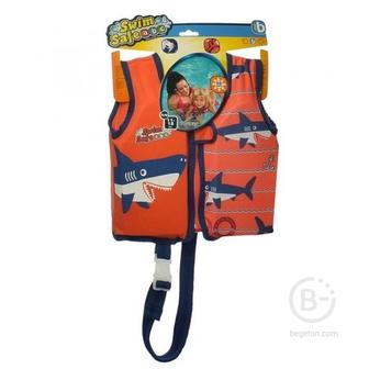 """Жилет для плавания Bestway 32177 """"Акула"""" с пенопластовыми вставками (3-6 лет)"""