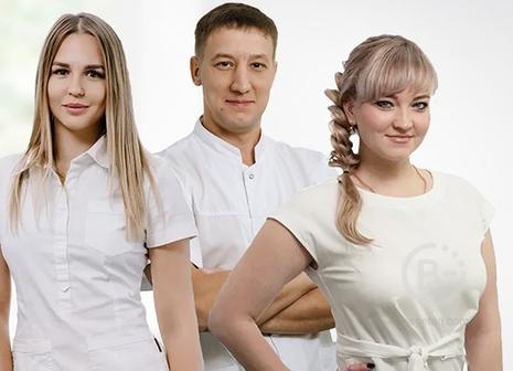 Профессиональная команда врачей в сети стоматологий ЭкоДент