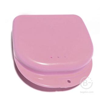 Plastic Box бокс пластиковый, 82*85*29 мм, цвет: розовый