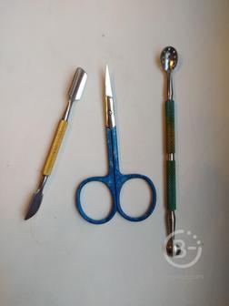 Заточка маникюрного парикмахерского инструмента