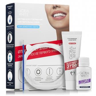 Global White система для отбеливания чувствительных зубов 3%