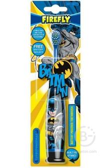 Firefly Batman Turbo Max зубная щетка с батарейкой, от 3-х лет