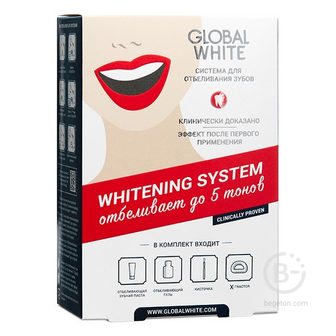 Global White система для интенсивного отбеливания 6%