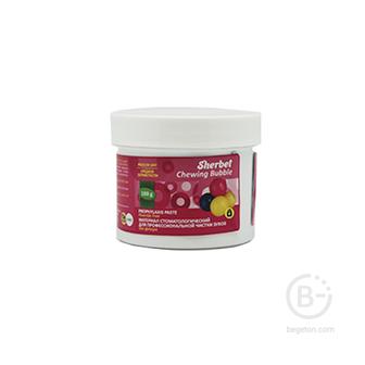 Sherbet Prophylaxis Paste, вкус жевательная резинка, зернистость крупная, 100 г