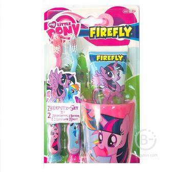 Firefly My little Pony набор для чистки зубов от 3-х лет