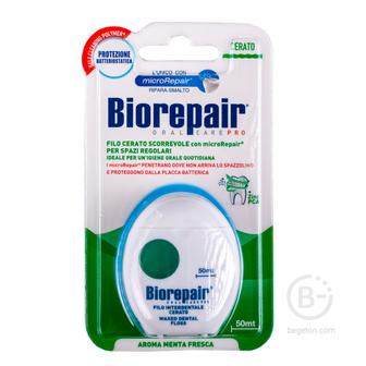 Biorepair Filo Cerato Scorrevole зубная нить комплексной защиты