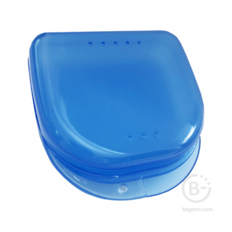 Plastic Box бокс пластиковый, 82*85*29 мм, цвет: голубой
