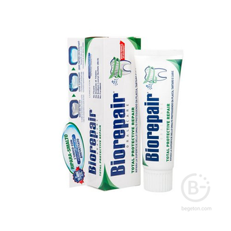 Biorepair Total Protection комплексная зубная паста, 75 мл