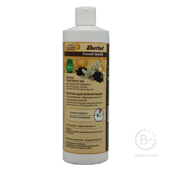 Sherbet рН-нейтральный тиксотропный гель, вкус французская ваниль, 500 мл
