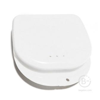 Plastic Box бокс пластиковый, 82*85*29 мм, цвет: белый