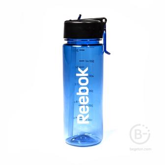 Бутылки питьевые Бутылка для тренировок Reebok 0,65 л, RABT-P65BLREBOK