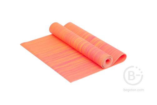 Коврики для йоги Коврик для йоги 4 мм оранжевый Ironmaster IR97501CH-04