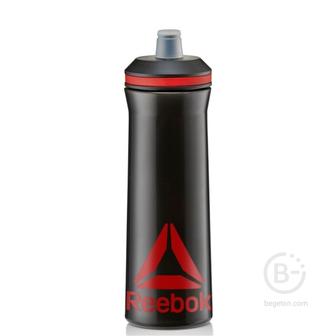 Бутылки питьевые Бутылка для тренировок 750 ml Reebok RABT-12005BK