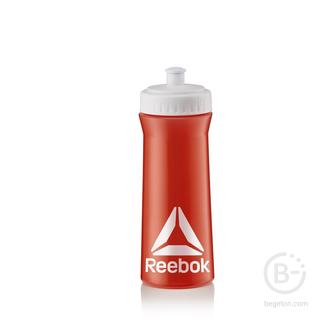 Бутылки питьевые Бутылка для тренировок Reebok 0,5, RABT11003RDWH