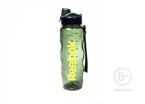 Бутылки питьевые Бутылка для тренировок Reebok 0,75, RABT-P75GNREBOK