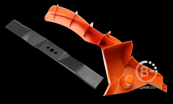 Аксессуары для садовой техники Комплект Husqvarna для LC 348V 9672388-01  (заглушка BioClip + нож BioClip)