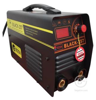 Сварочные инверторы Инверторный сварочный аппарат Edon BLACK-257 (кейс)