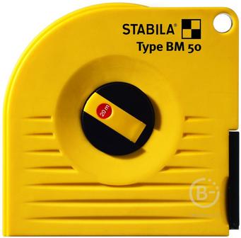 Рулетки измерительные Капсульная измерительная лента STABILA тип BM 50 P 10м х 13мм 17217