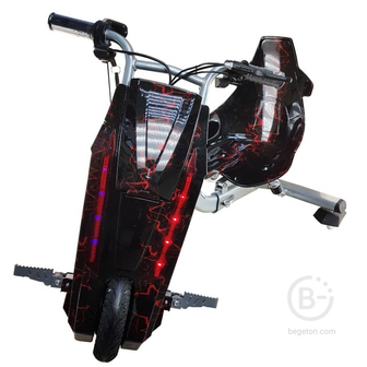 Электроскутер Дрифт Карт Drift-Trike MINIPRO Mi T01 - Красная молния Mi T01