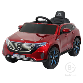 Детский электромобиль Mercedes Benz EQC 400 4MATIC - HL378-LUX-RED-PAINT