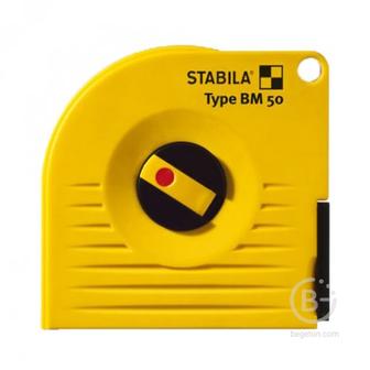 Рулетки измерительные Капсульная измерительная лента STABILA тип BM 50 G 10м х 13мм 17214