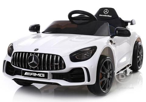 Детский электромобиль Mercedes-Benz GTR AMG 12V - BBH-0006-WHITE
