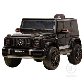 Электромобиль Mercedes-Benz G63 AMG 12V с высокой дверью - BBH-0002H-BLACK-PAINT
