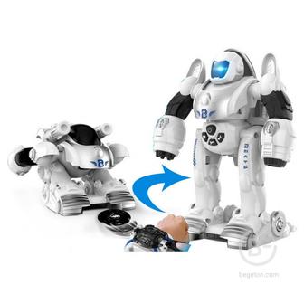 Робот-трансформер Zhorya Деформер с наручной катапультой - ZYB-B3118