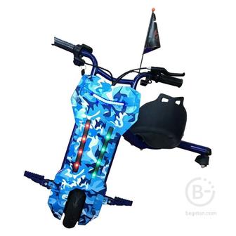 Электроскутер Дрифт Карт Drift-Trike MINIPRO Mi T01 - Синий хаки Mi T01