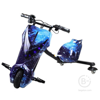 Электроскутер Дрифт Карт Drift-Trike MINIPRO Mi T01 - Синий космос Mi T01