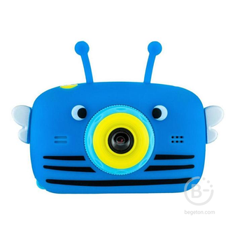 Детский цифровой фотоаппарат Children's Fun Camera с селфи пчелка Fun Camera