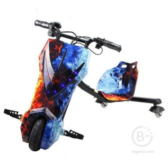 Электроскутер Дрифт Карт Drift-Trike MINIPRO Mi T01 - Огонь и лед Mi T01