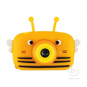 Детский цифровой фотоаппарат Children's Fun Camera пчелка Fun Camera