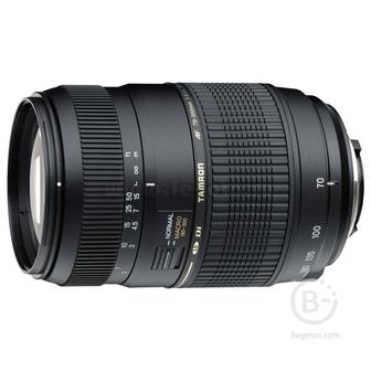 Объектив Tamron AF70-300мм F/4-5.6 Di LD Макро 1:2 Canon (A17E)