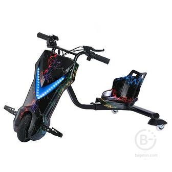 Электроскутер Дрифт Карт Drift-Trike MINIPRO Mi T01 - Разноцветная молния Mi T01
