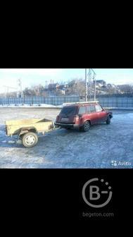 Грузоперевозки малогабаритных грузов на легковой с прицепом и багажником на крыше
