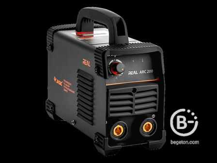 Сварочные инверторы Сварочный инвертор СВАРОГ REAL ARC 200 (Z238N) Black (маска+краги)
