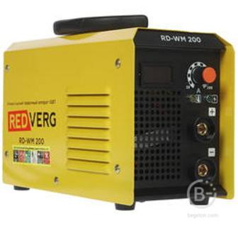 Сварочные инверторы Аппарат сварочный бестрансформаторный RedVerg RD-WM 200