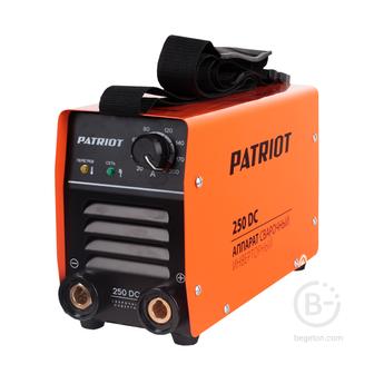 Сварочные инверторы Аппарат сварочный инверторный PATRIOT 250DC MMA Кейс