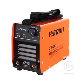 Сварочные инверторы Аппарат сварочный инверторный PATRIOT 210DC MMA