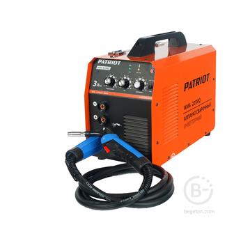 Полуавтоматические сварочные аппараты Полуавтомат сварочный инверторный PATRIOT WMA 225MQ MIG/MAG/MMA