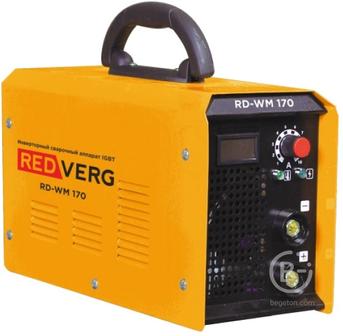 Сварочные инверторы Аппарат сварочный бестрансформаторный RedVerg RD-WM 170