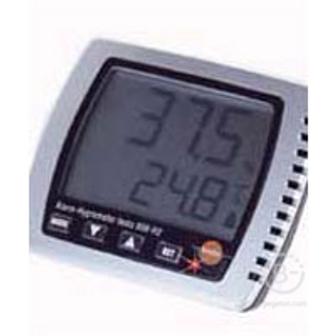 Измерители влажности и температуры Гигрометр Testo 608-Н1 для измерения влажности в диапазоне +10…+95% ОВ при температуре -20…+50oС, с расчетом точки росы