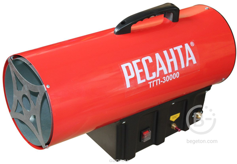 Тепловые газовые пушки Газовая тепловая пушка Ресанта ТГП-30000