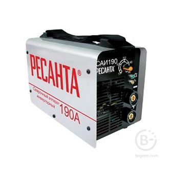 Сварочные аппараты аргонодуговой сварки Сварочный аппарат инверторный САИ 190 Ресанта