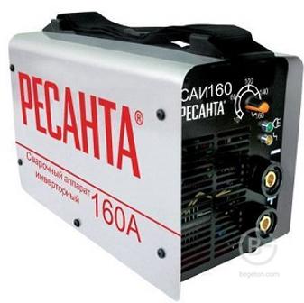 Сварочные аппараты аргонодуговой сварки Сварочный аппарат инверторный САИ 160 Ресанта