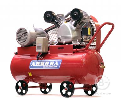 Компрессоры ременные Воздушный компрессор Aurora Tornado-110