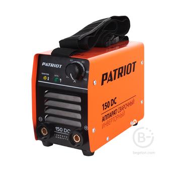 Сварочные инверторы Аппарат сварочный инверторный PATRIOT 150DC MMA