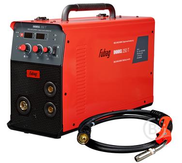 Полуавтоматические сварочные аппараты Сварочный полуавтомат-инвертор FUBAG INMIG 250 T с горелкой FB 250_3 м