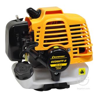 Двигатели для садовой техники Двигатель CHAMPION G026HTF-II